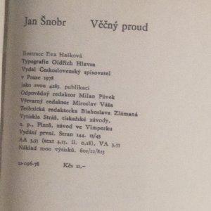 antikvární kniha Věčný proud, 1978