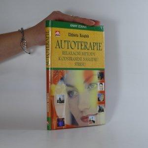 náhled knihy - Autoterapie. Relaxační metody k odstranění následků stresu