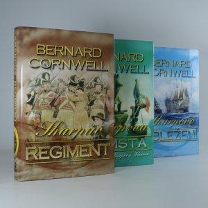 náhled knihy - 3x Richard Sharpe (Sharpův regiment, Sharpovo obležení, Sharpova pomsta a povídka Sharpovy Vánoce)