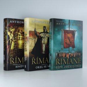 náhled knihy - 3x Římané (Šípy zběsilosti, Orel se mstí, Hněv bohů)