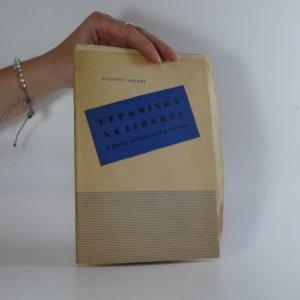 náhled knihy - Vzpomínky na Liberec z doby německého útlaku. Přednáška pro sjezd