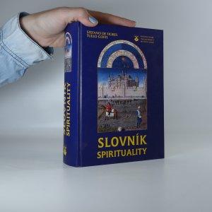 náhled knihy - Slovník spirituality