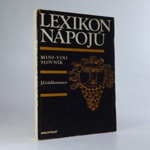 náhled knihy - Lexikon nápojů