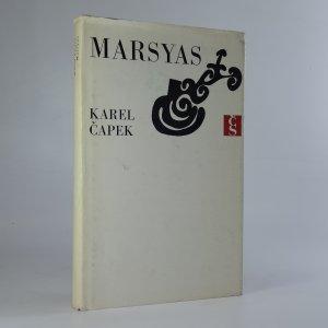 náhled knihy - Marsyas čili Na okraj literatury
