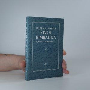 náhled knihy - Život Rimbauda. Dopisy a dokumenty