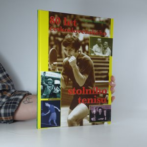 náhled knihy - 80 let československého stolního tenisu