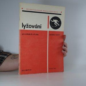 náhled knihy - Lyžování pro cvičitele III. a II. třídy