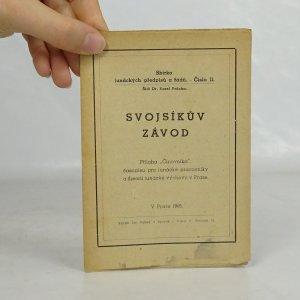 náhled knihy - Svojsíkův závod. Sbírka junáckých předpisů a řádů. Číslo 11.
