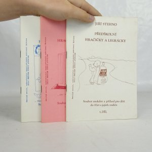 náhled knihy - Předškolní hračičky a legrácky. 1.-3. díl (3 svazky).