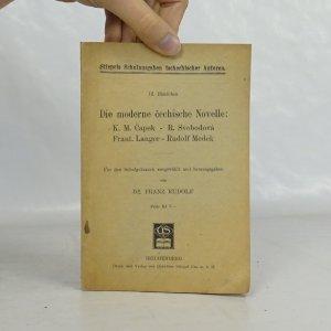 náhled knihy - Die moderne čechische Novelle