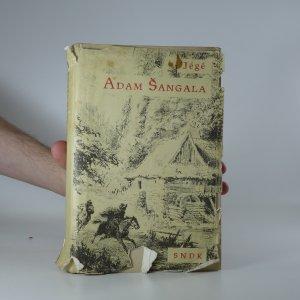 náhled knihy - Adam Šangala