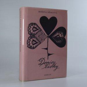 náhled knihy - Dopisy lásky