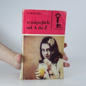 náhled knihy - O nápojích od A po Z