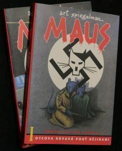 náhled knihy - Maus : příběh očitého svědka. I a II