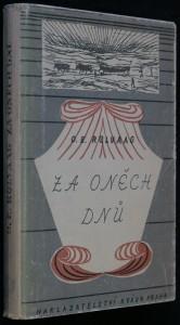 náhled knihy - Za oněch dnů