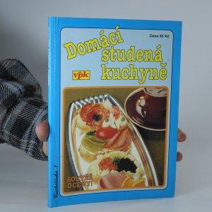 náhled knihy - Domácí studená kuchyně