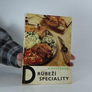 náhled knihy - Drůbeží speciality