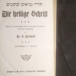 antikvární kniha Die heilige Schrift, 1909