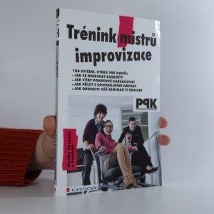 náhled knihy - Trénink mistrů improvizace
