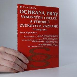 náhled knihy - Ochrana práv výkonných umělců a výrobců zvukových záznamů