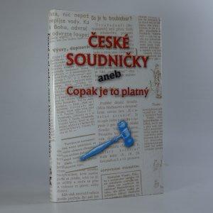 náhled knihy - České soudničky aneb Copak je to platný