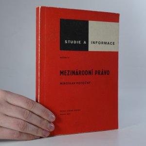 náhled knihy - Mezinárodní právo
