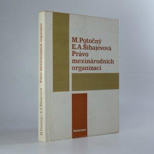 náhled knihy - Právo mezinárodních organizací