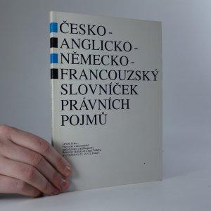 náhled knihy - Česko-anglicko-německo-francouzský slovníček právních pojmů