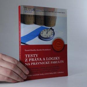 náhled knihy - Testy z práva a logiky na právnické fakulty