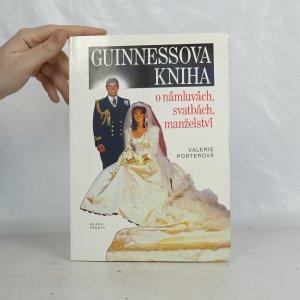 náhled knihy - Guinessova kniha o námluvách, svatbách, manželství