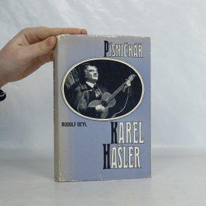 náhled knihy - Písničkář Karel Hašler