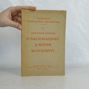 náhled knihy - O nacionalismu a novém slovanství
