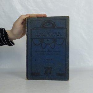 náhled knihy - Filosofická propedeutika pro gymnasia, reálná gymnasia a reformní reálná gymnasia. Díl druhý: Logika.