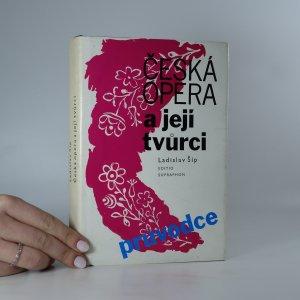 náhled knihy - Česká opera a její tvůrci