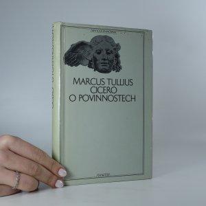 náhled knihy - O povinnostech. Rozprava o třech knihách věnovaná synu Markovi.