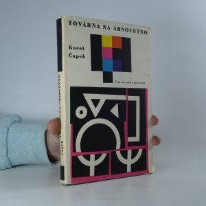 náhled knihy - Továrna na absolutno