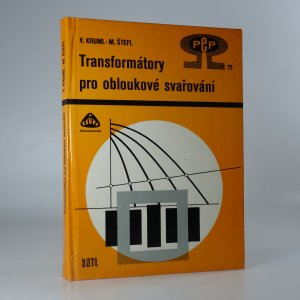náhled knihy - Transformátory pro obloukové svařování