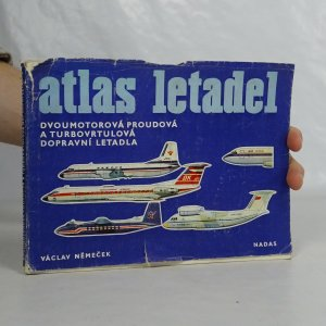 náhled knihy - Atlas letadel. Dvoumotorová proudová a turbovrtulová dopravní letadla.