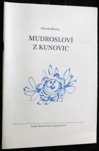 náhled knihy - Mudrosloví z Kunovic