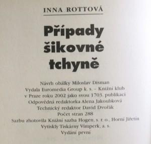 antikvární kniha Případy šikovné tchyně, 2002