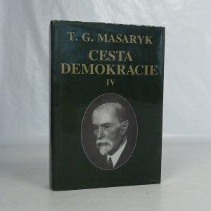náhled knihy - Cesta demokracie IV., Projevy-články-rozhovory (1929-1937)
