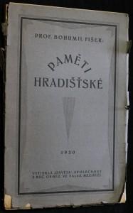 náhled knihy - Paměti hradišťské