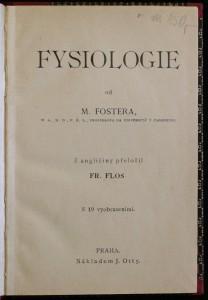 antikvární kniha Fysiologie, neuveden