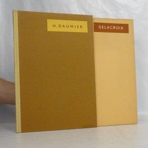 náhled knihy - 2x Prameny, sbírka dobrého umění. H. Daumier, Delacroix (Svazek 3, 57)