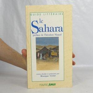 náhled knihy - Le Sahara préface de Théodore Monod