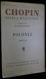 náhled knihy - Polonez As-dur op. 53