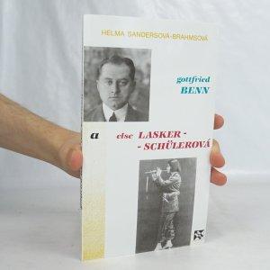 náhled knihy - Gottfried Benn a Esle Lasker-Schüllerová