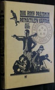náhled knihy - Dva roky prázdnin, Patnáctiletý kapitán (komplet 11 sešitů)
