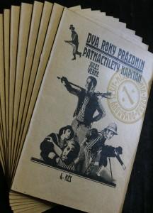 antikvární kniha Dva roky prázdnin, Patnáctiletý kapitán (komplet 11 sešitů), 1969