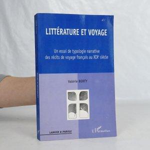 náhled knihy - Littérature et voyage au XIXe siècle